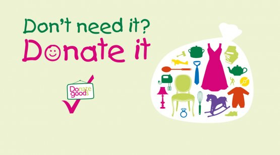 Donate to your local CHSW charity shop