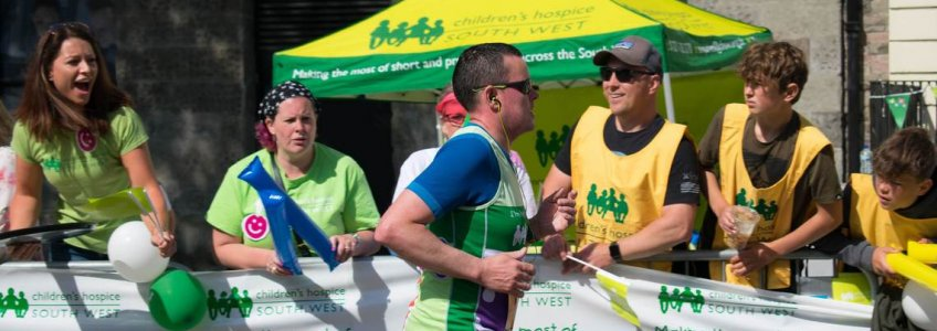 Running for Children's Hospice South West