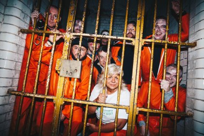 Jail and Bail Bristol prisoners were locked up for the day to raise their bail money