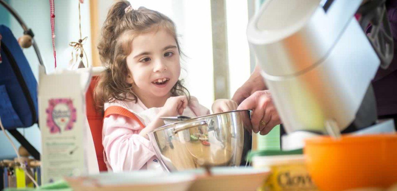 Freya baking