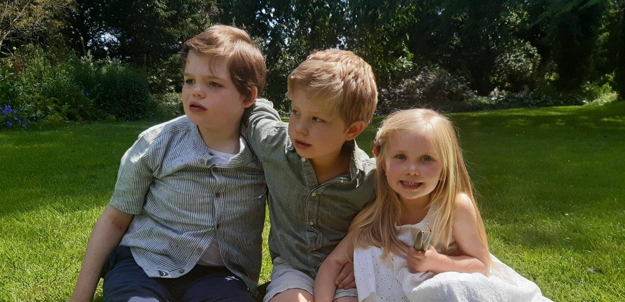 Quinn, Monty and Saffron Irish