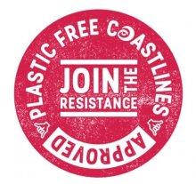 Plastic Free North Devon sticker of approval
