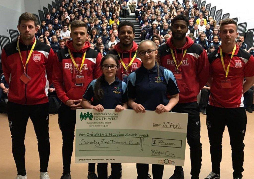 Bristol City Football Club supporting CHSW