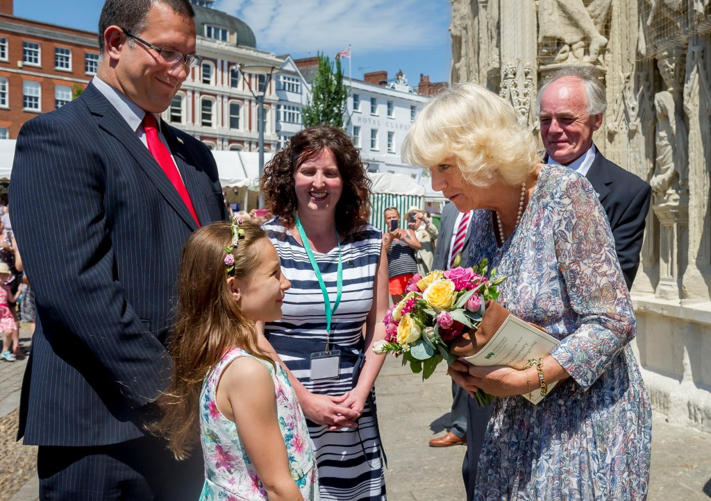 HRH The Duchess of Cornwall attends our Service of Thanksgiving