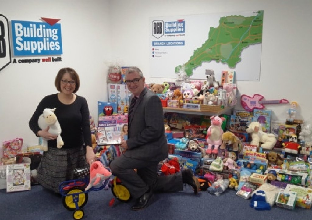 RGB's gift appeal for Children's Hospice South West is a huge success