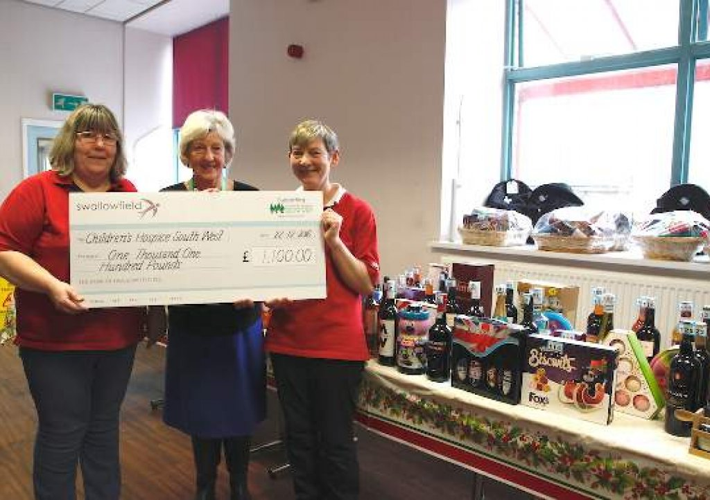 Staff at Swallowfield raise funds for CHSW