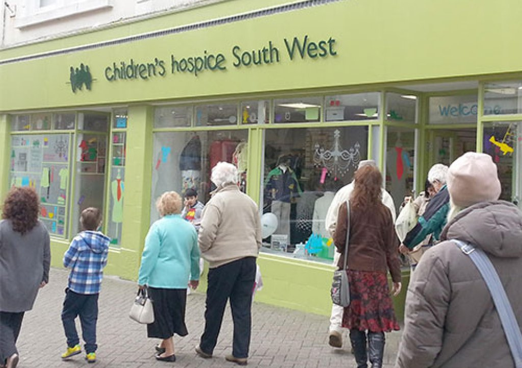 CHSW Charity Shop Penzance Cornwall