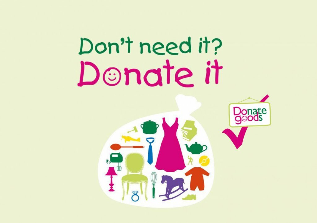 Donate your unwanted items to Children's Hospice South West