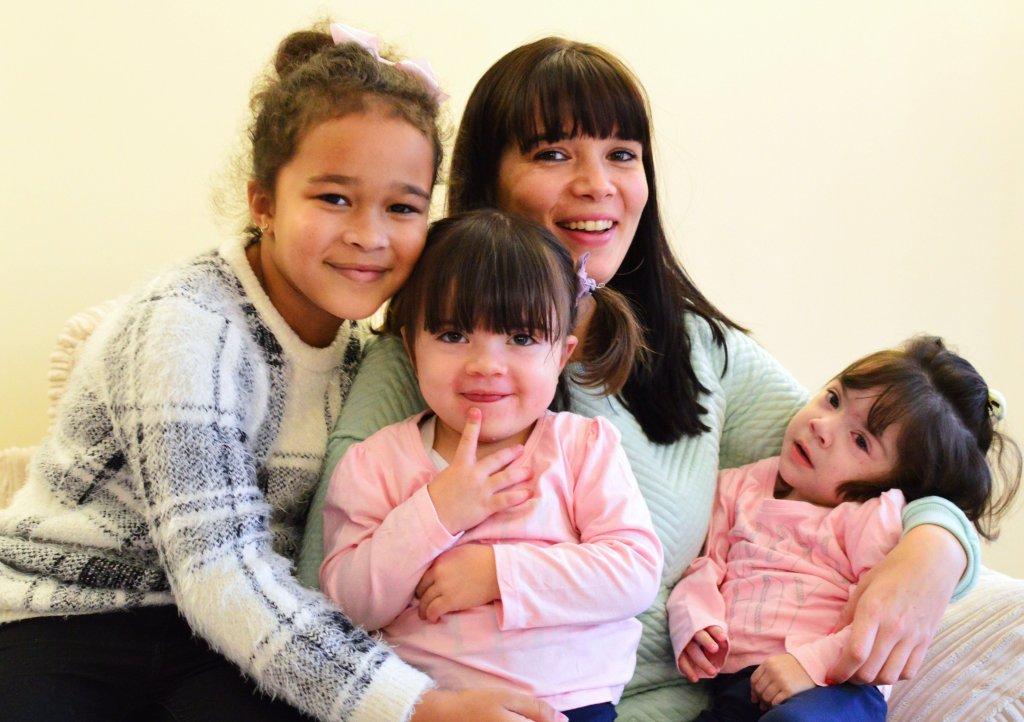 Becki Smith and family