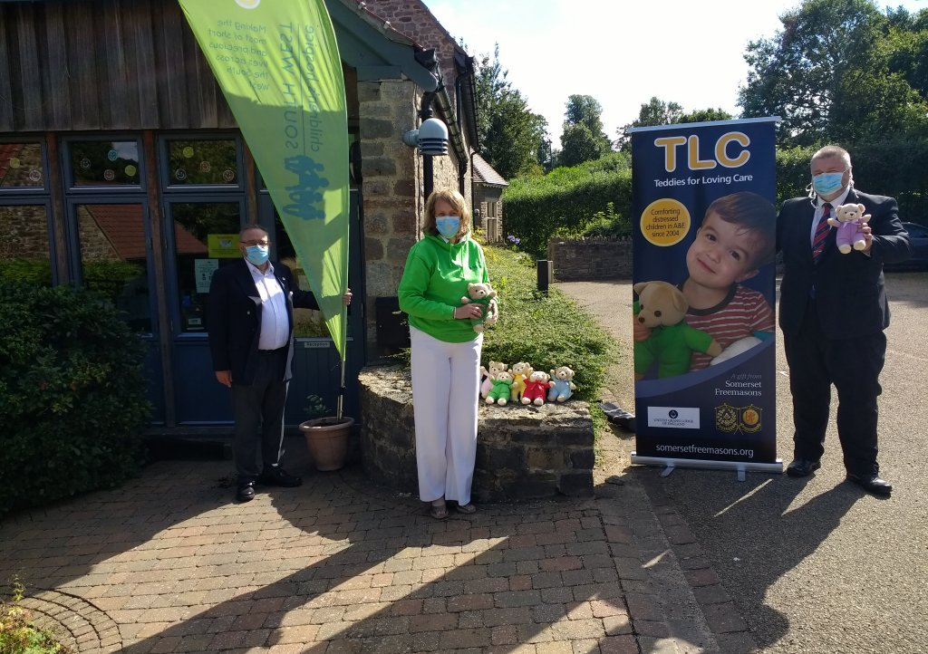 Teddies-donated-by-Somerset-Masons