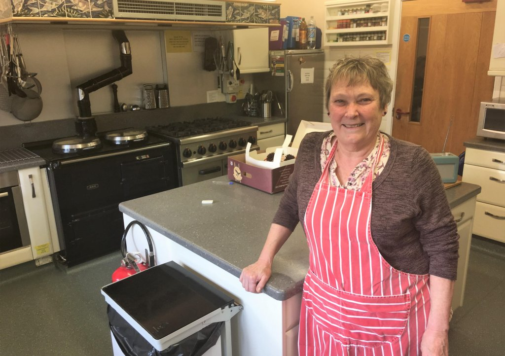 Alison Vogler, senior cook at Children's Hospice South West's Little Bridge House
