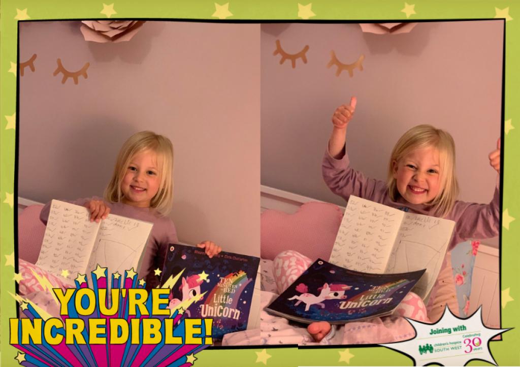 Amelie read 106 books in just 4 weeks