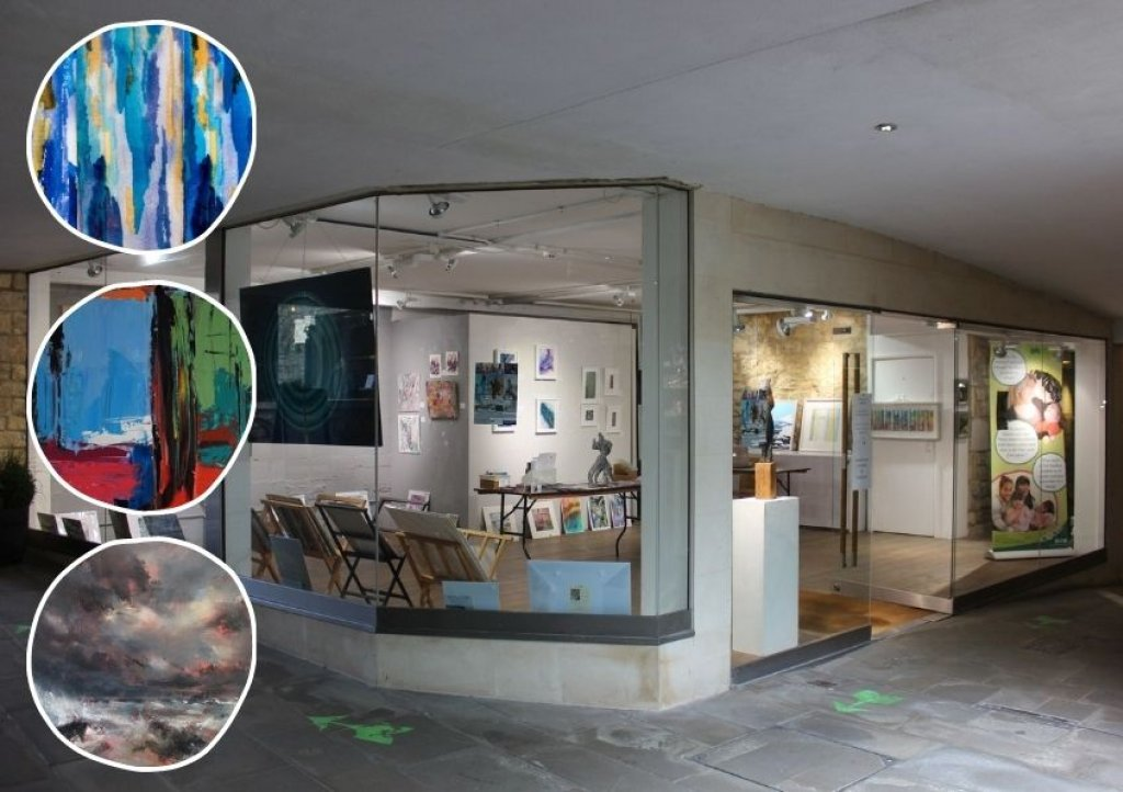 Art Gallery SW's 'pop-up' exhibition at 23 Milsom Place, Bath