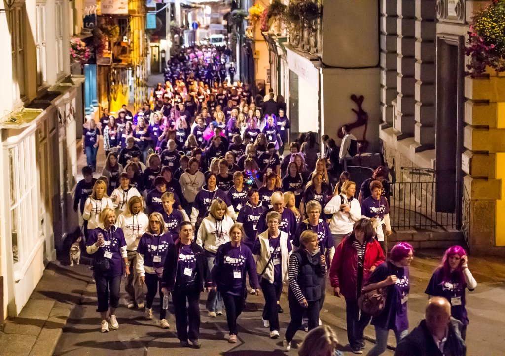 Moonlight Memory Walk walkers will be taking to the streets of Falmouth on 30th March