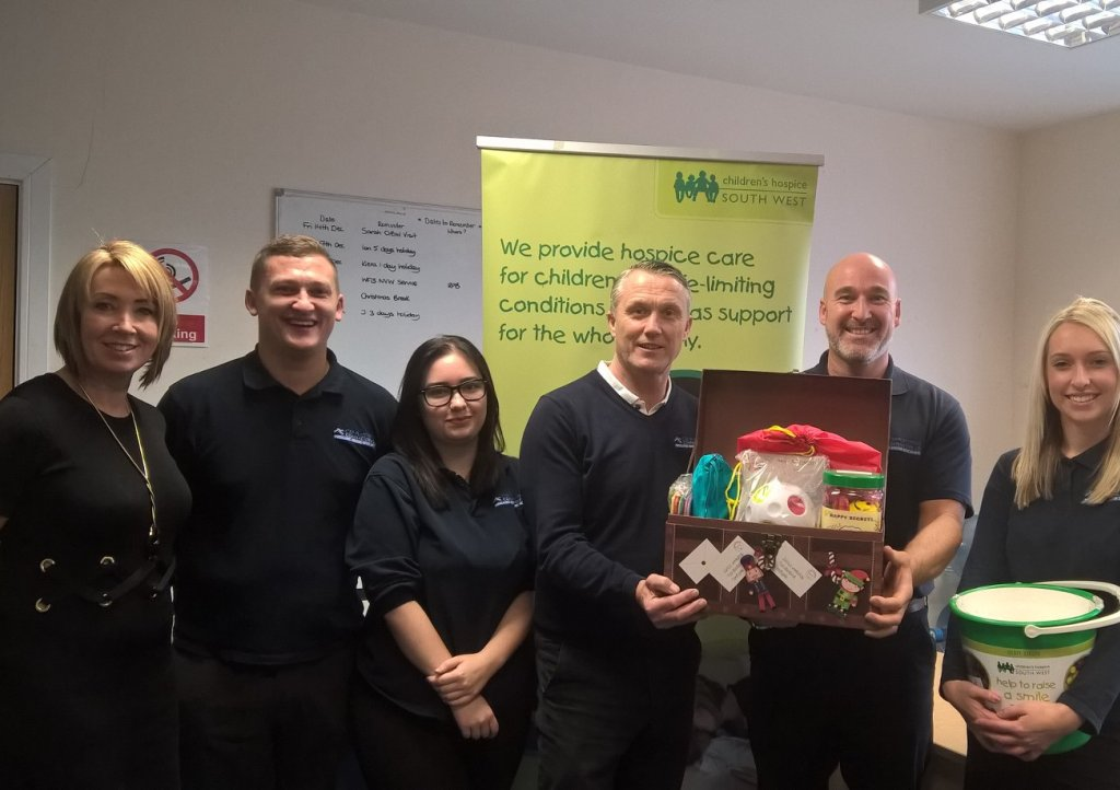 C&P Plastering's donation of sensory toys