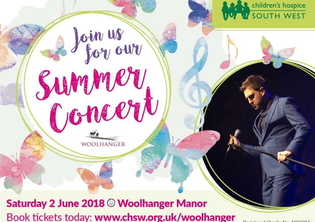Join us for an evening of entertainment at Woolhanger Manor