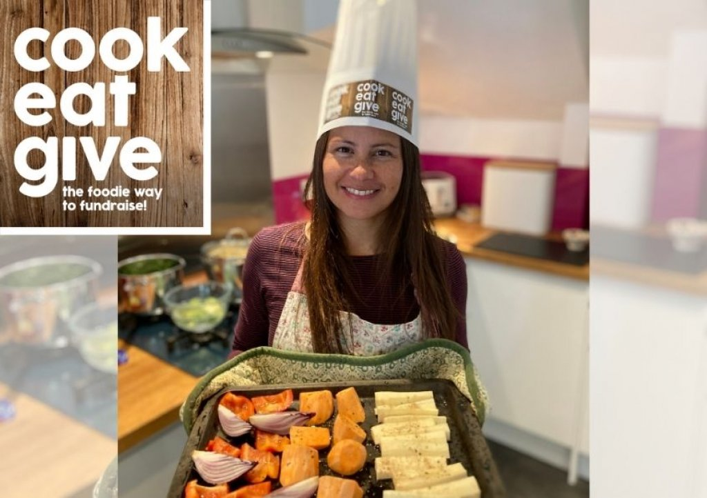 Show off your culinary skills by holding a Cook Eat Give for Children's Hospice South West