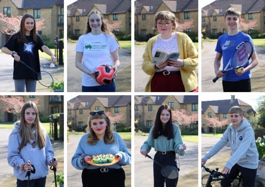 CHSW Young Ambassadors are taking on a 30-Day May Mission in support of the charity