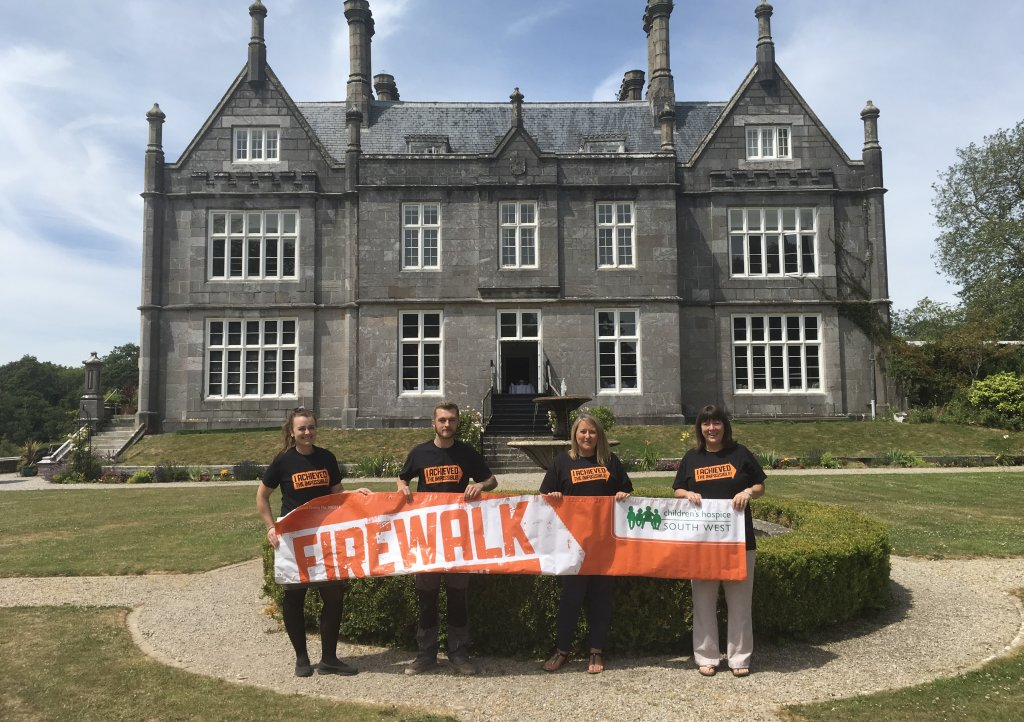 Kitley House - the venue for Firewalk Plymouth