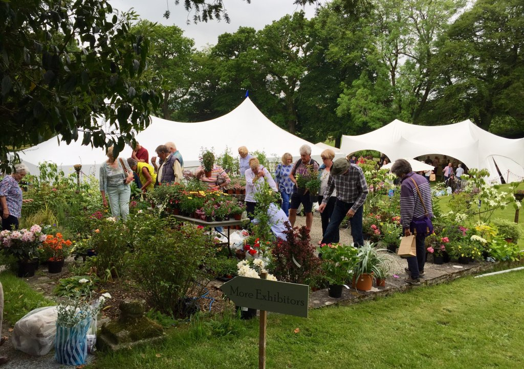 Coombe Trenchard's English Country Garden Festival has over 75 different stalls