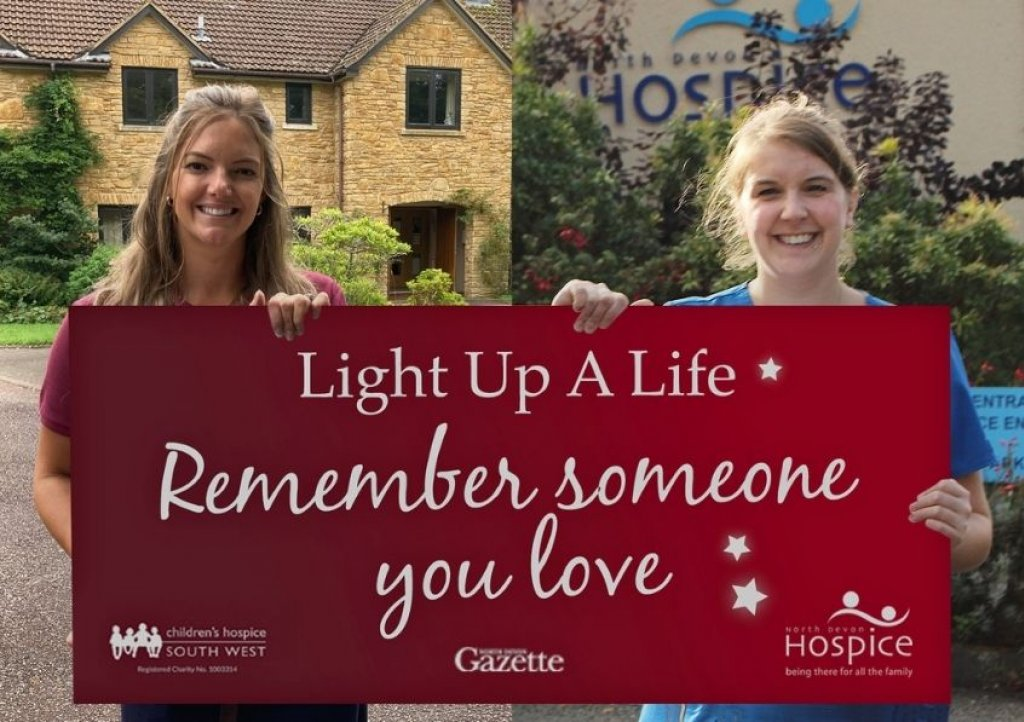 Together but apart – nurses from CHSW and NDH launch this year's Light Up a Life appeal'
