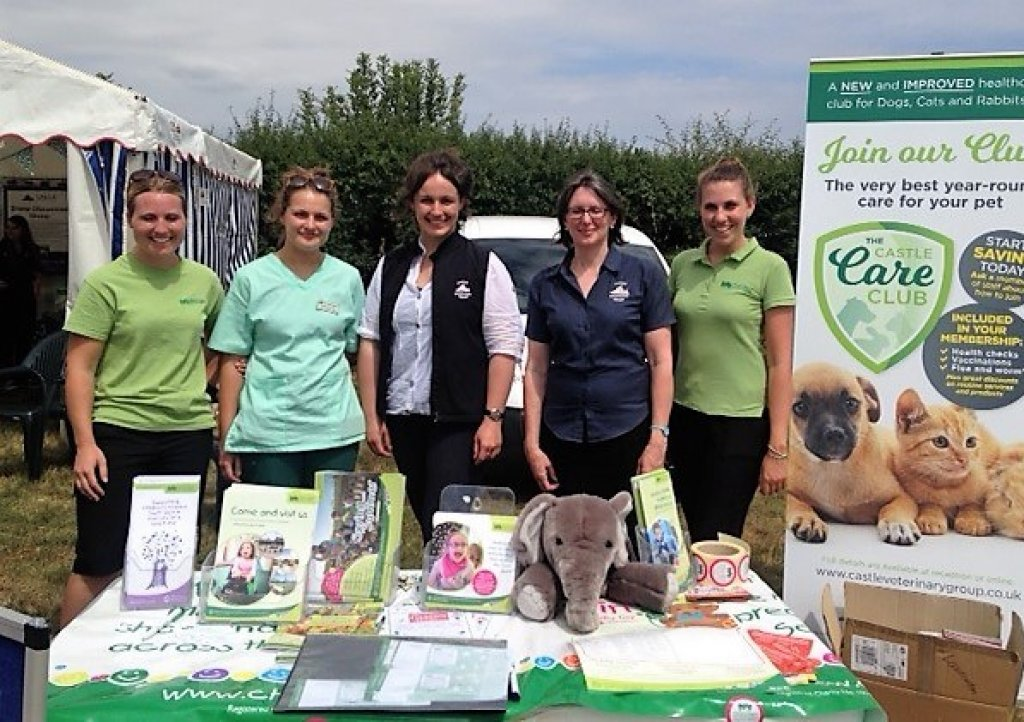 Castle Vets launch partnership with CHSW at Launceston Show