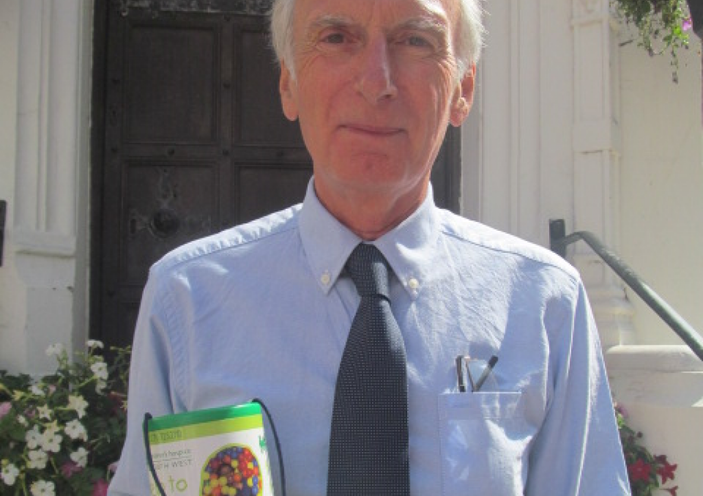 Lyme Regis Mayor Brian Larcombe