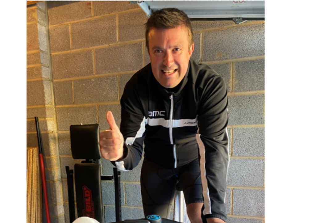 Marcus-uses-pedal-power-to-raise-funds