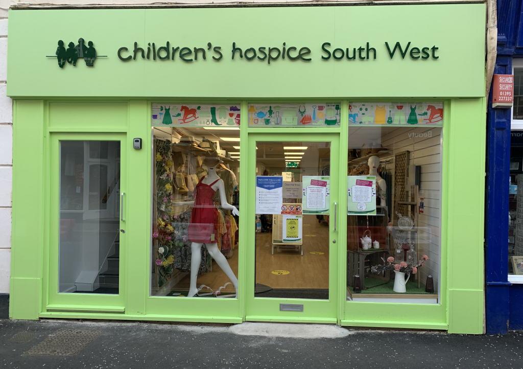 The new Children's Hospice South West shop in Fore Street, Sidmouth, is on the look-out for volunteers