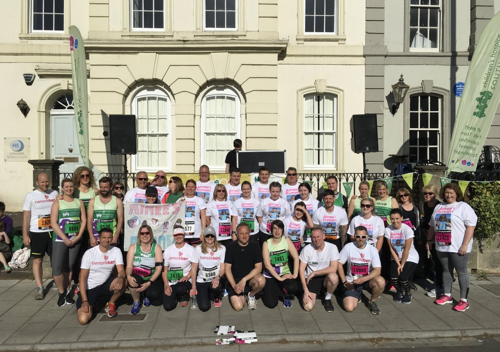 Team CHSW at Bristol 10k