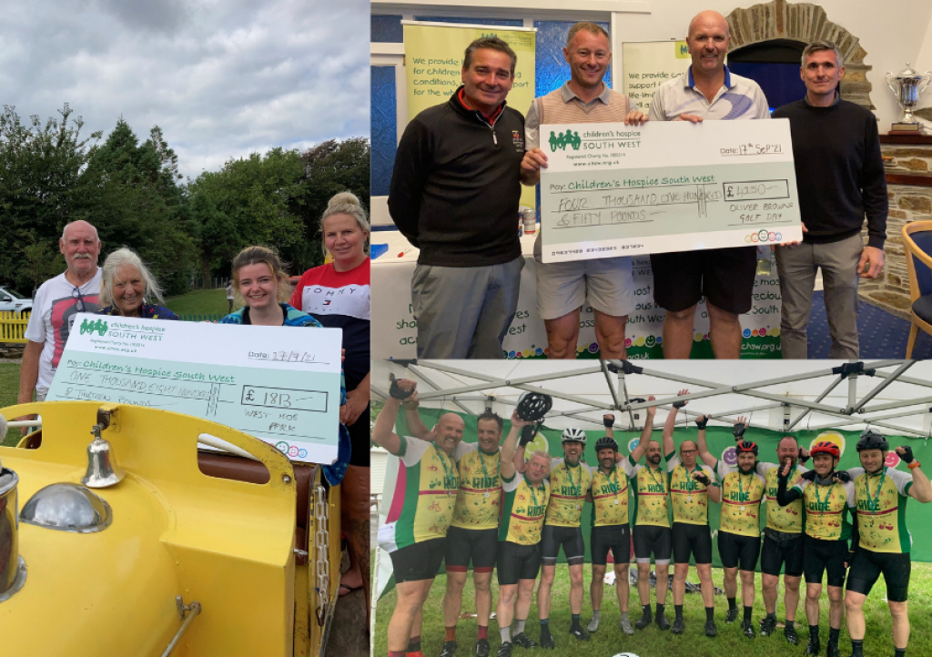 Two golf days, a family fun day and a charity cycle have made up a summer of fundraising in memory of Oliver Brown