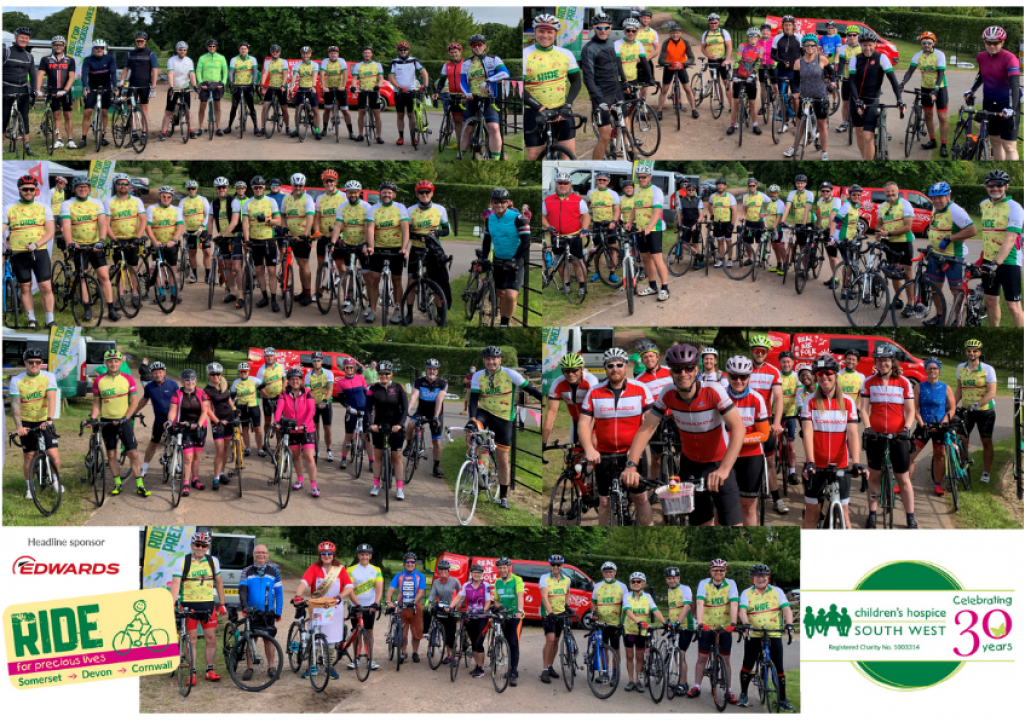 100 cyclists took part in CHSW's Ride for Precious Lives