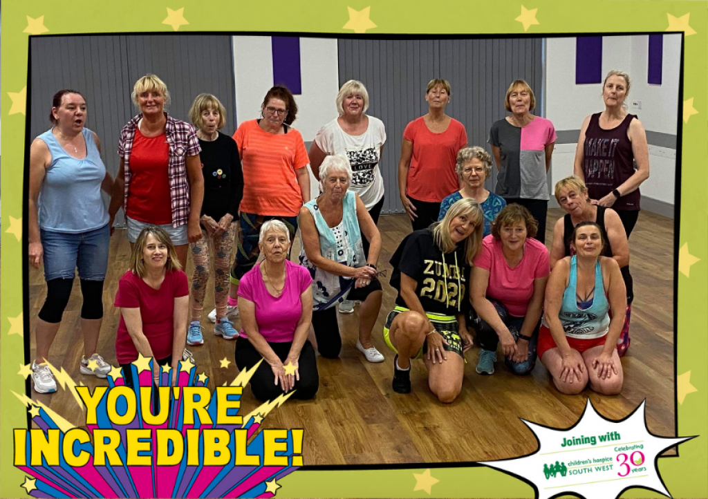 Zumba with Jeanie attendees enjoyed a zumba party to raise funds for CHSW