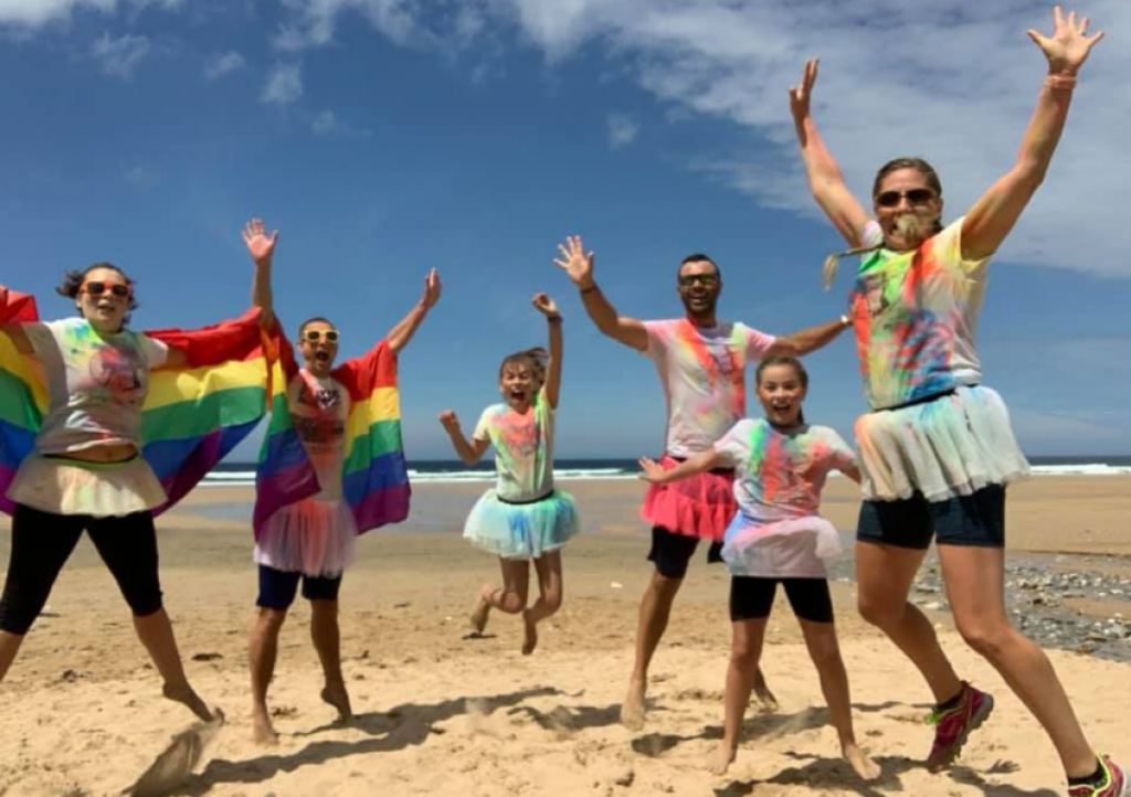 CHSW are jumping for joy as they receive sponsorship from Ann's Cottage and The Exeter for their Rainbow Run 2021
