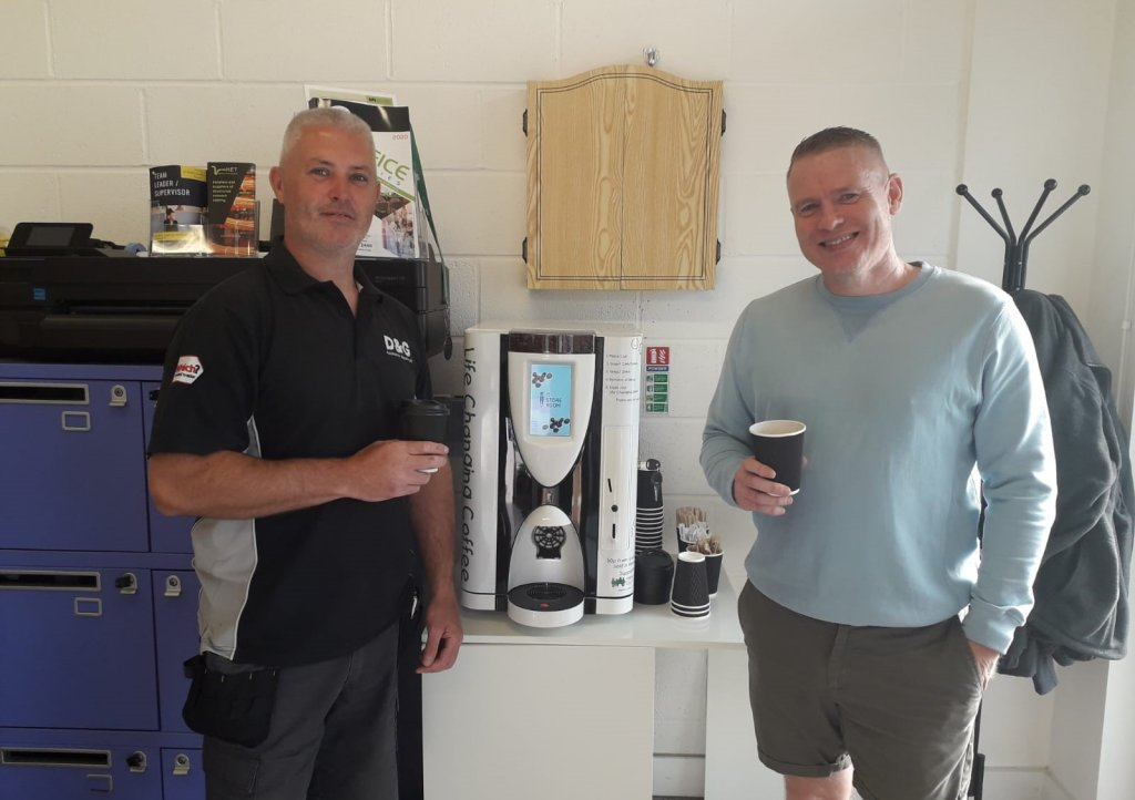 The-IT-Storeroom-with-its-charity-coffee-machine