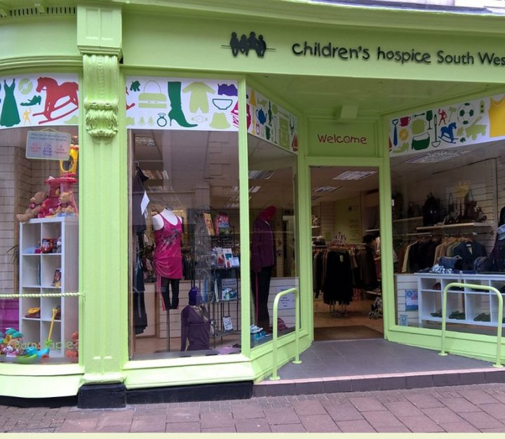 Barnstaple cHSW charity shop front