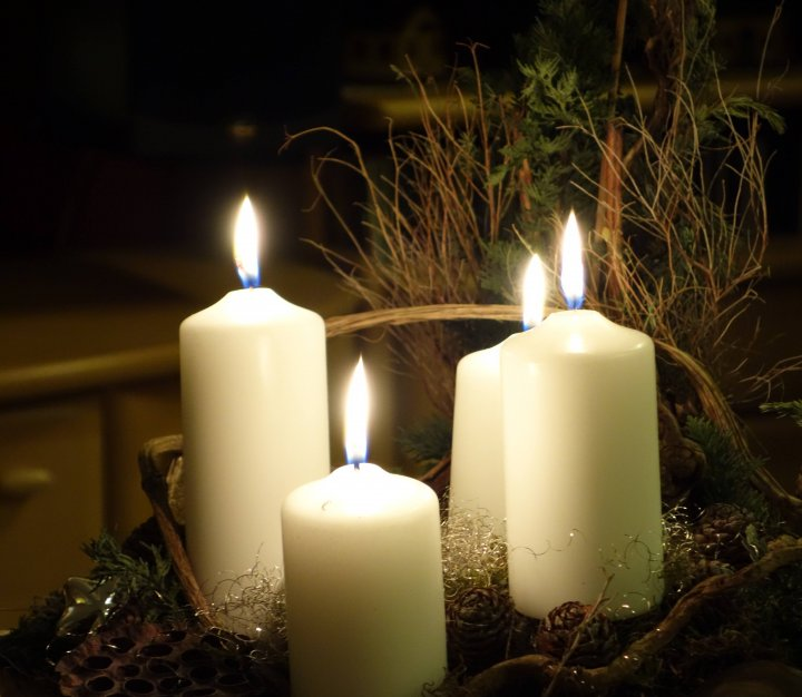 Christmas Candles - Light up a Life