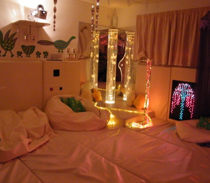 Little Bridge House sensory room