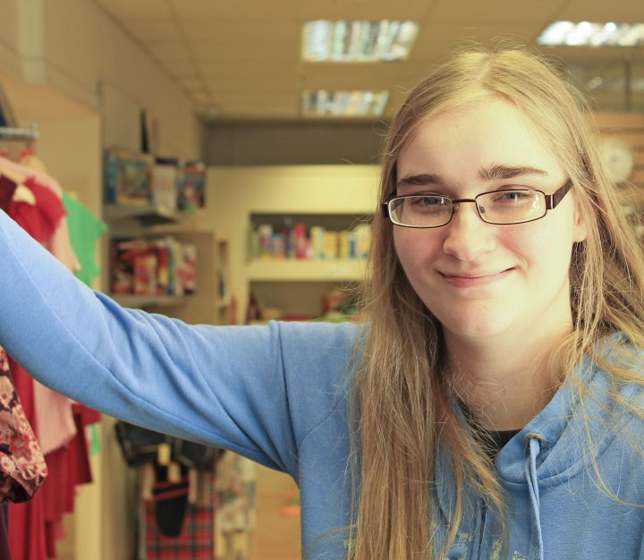Retail volunteer | Sarah