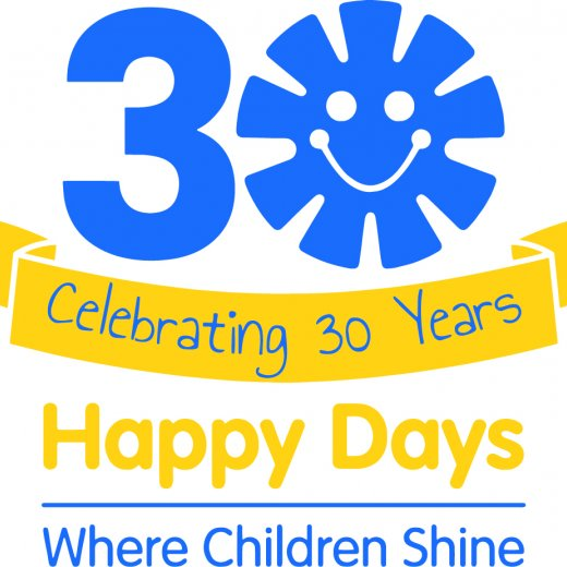 Happy Days 30 anniversary logo