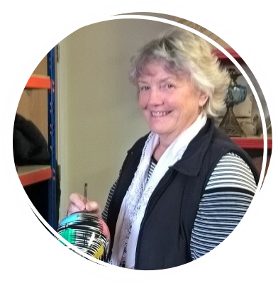 Meet Julie our retail volunteer who works at Tiverton
