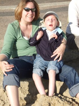 Hazel is running Bristol 10k in memory of her son Daniel