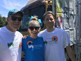 Ed and Troy from Heart with CHSW's Hollie