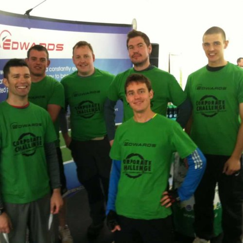 Edwards Team fundraising for CHSW