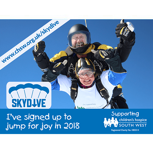 CHSW Sky Diving Graphic