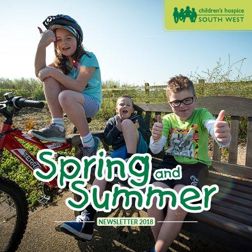 Spring Summer 2018 newsletter cover